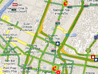Traffic on Map